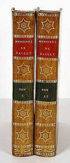 BAILLY, J.-S. Discours et mémoirs, par l'auteur de l'historie de l'astronom