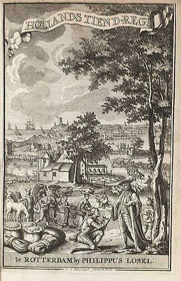 SCHELLING, P. v.d. Hollands tiend-regt, of Verhandeling v.h. Regt tot de Ti