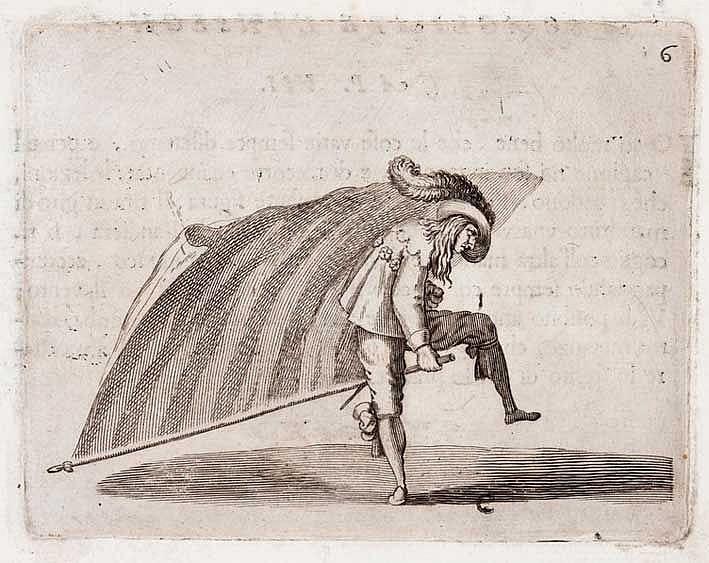 FENCING -- ALFIERI, F.F. La Picca e la Bandiera. Padua, S. Sardi, 1641. (8)