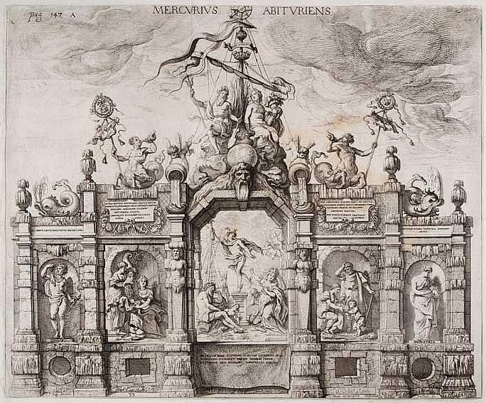 GEVARTIUS, C. Pompa introitus honoris serenissimi principis Ferdinandi Aust
