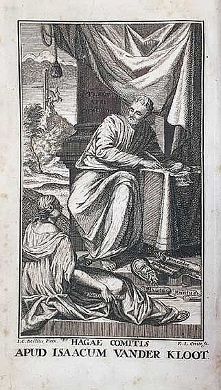 TERENTIUS. Comoediae VI. Cum interpret. Donati et Calphurnii, et comm. perp
