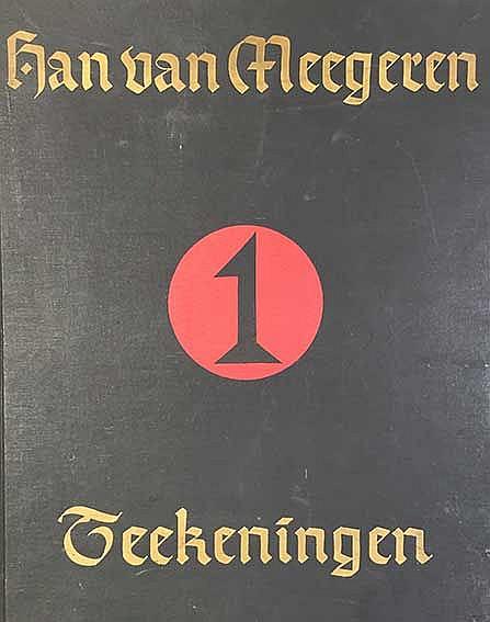 MEEGEREN, Han van -- BOER, H. de & P. KOOMEN. Han van Meegeren, teekeningen