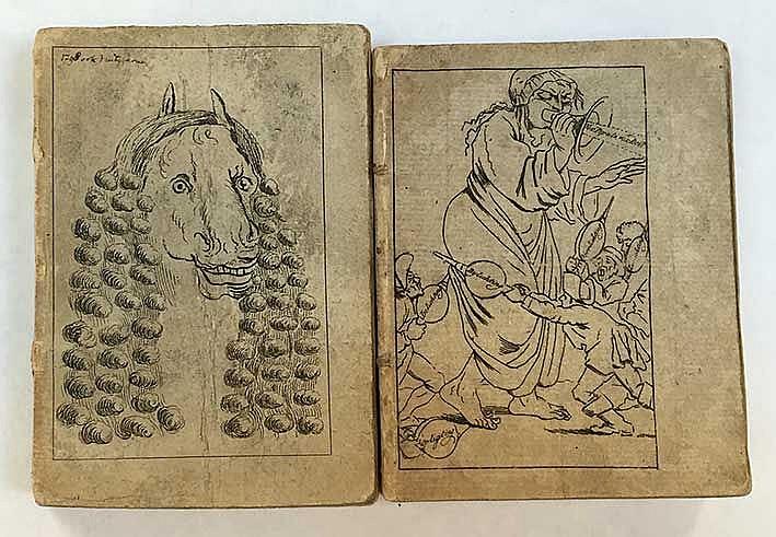 WOENSEL -- AMURATH-EFFENDI, Hekim-Bachi. De Lantaarn voor 1798 (&) 1800. Am