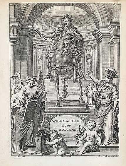 ROTGANS, L. Wilhem de Derde. In heldendicht beschreven. 2e dr. Amst., A. Sc