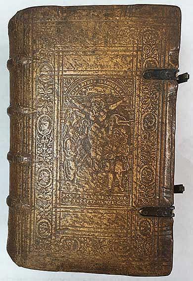 STIGEL, J. Poematum ex rec. A. Siberi. Jena, Richtzenhan, (1577). 2 in 1 vo