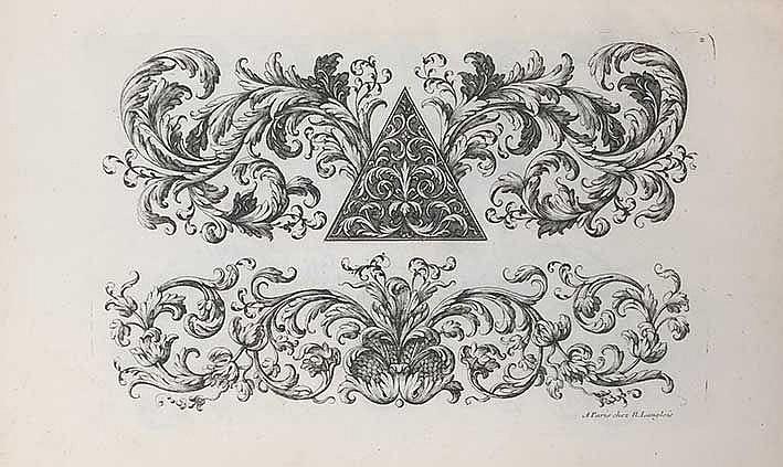 (ARCHITECTURAL) ORNAMENTATION -- ANDROUET DU CERCEAU, P. Nouveau livre d'or