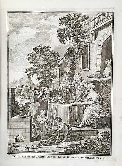 CHOMEL, N. Algemeen huishoudelyk-, natuur-, zedekundig- en konstwoordenboek