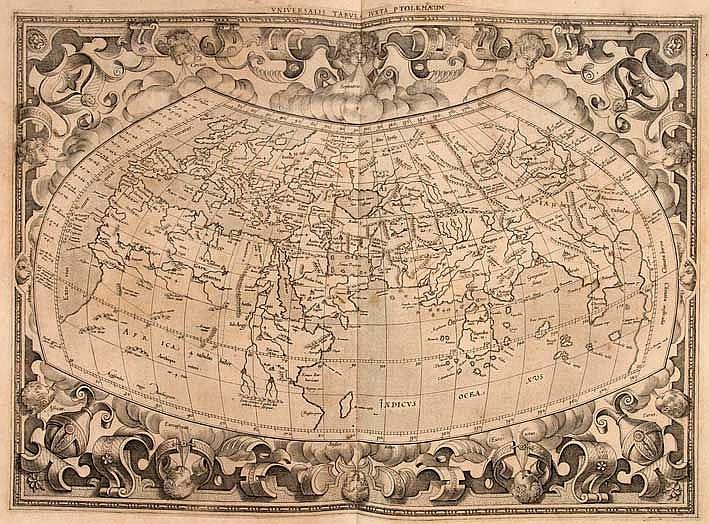ATLASES -- BERTIUS, P. Theatrum geographiae veteris. Tomus prior in quo Cl.