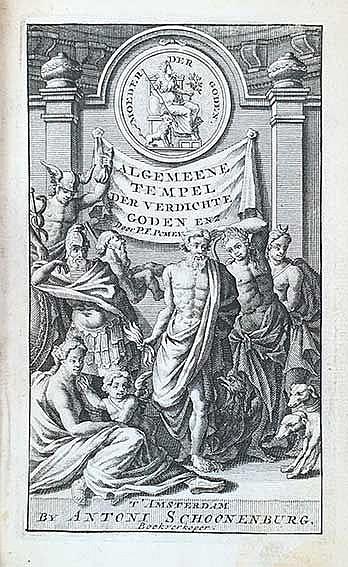 POMEY, F. Pantheum mythicum, of verdichte historie der goden, en godinnen.