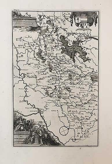 BELGIUM -- LE ROY, J. Groot werreldlyk tooneel des Hertogdoms van Braband.
