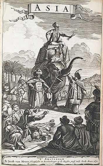 ASIA -- DAPPER, O. Asia, of naukeurige beschryving van het rijk des grooten