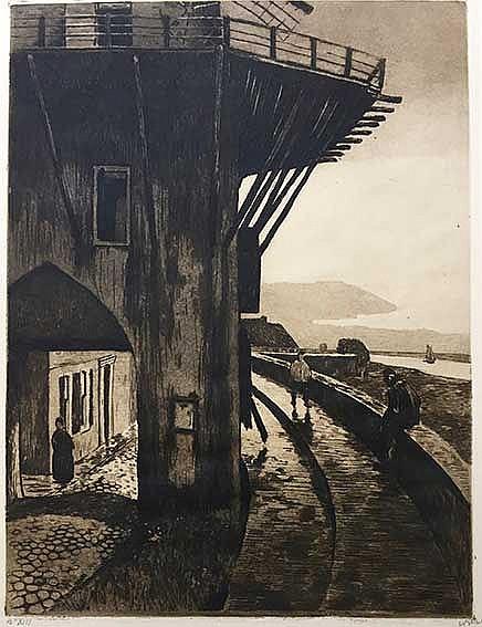 WITSEN, Willem Arnold ('Willem') (1860-1923). 'Molenpoort' (Wijk bij Duurst