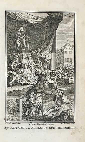 HEEMSKERK, J. v. Batavische arcadia, waar in: Onder 't Loof-werk van Liefko