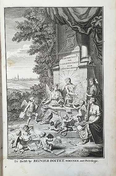 's-GRAVENHAGE -- RIEMER, J. de. Beschryving van 's-Gravenhage. Delft (&) 's