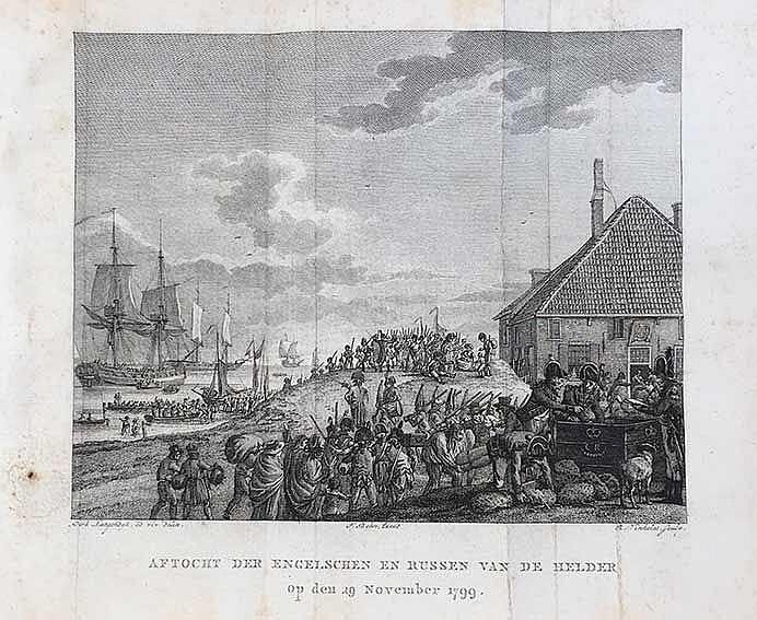 VONK, L.C. Geschiedenis der landing van het Engelsch-Russisch leger in Noor