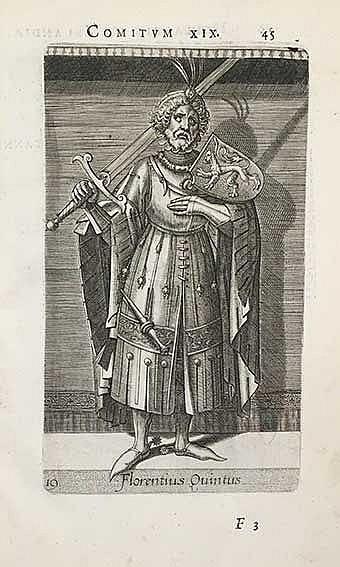 VOSMEER, M. Principes Hollandiae et Zelandiae, domini Frisiae. Antw., Chr.