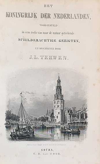 TERWEN, J.L. Het Koningrijk der Nederlanden, voorgesteld in eene reeks van