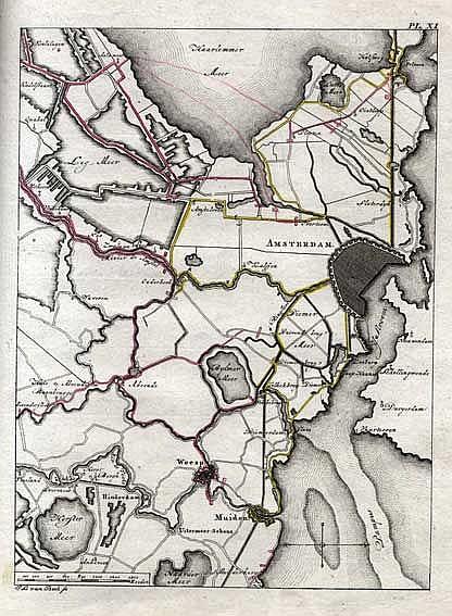 MILITARIA -- PFAU, T.P. v. Geschiedenis van den veldtogt der Pruissen, in H