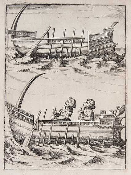 MARITIME HISTORY - TRAVELLING -- SNELLIUS, W. Tiphys Batavus, sive histiodr