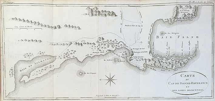 MARITIME HISTORY - TRAVELLING -- STAVORINUS, J.S. Voyage par le Cap de Bonn