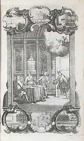 DICHTKUNDIG PRAAL-TOONEEL van Neerlands wonderen. Embden (=Amst., G. v. Hat