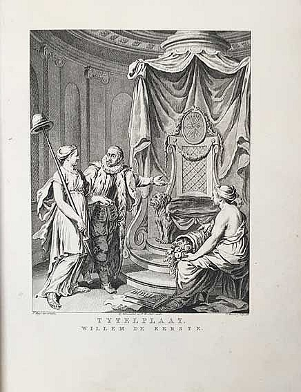 WILLEM I -- NOMSZ, J. Willem de eerste, of de grondlegging der Ned. vryheid