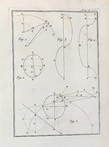 EULER, J.A. Mémoire dans lequel on examine si les planetes se meuvent dans