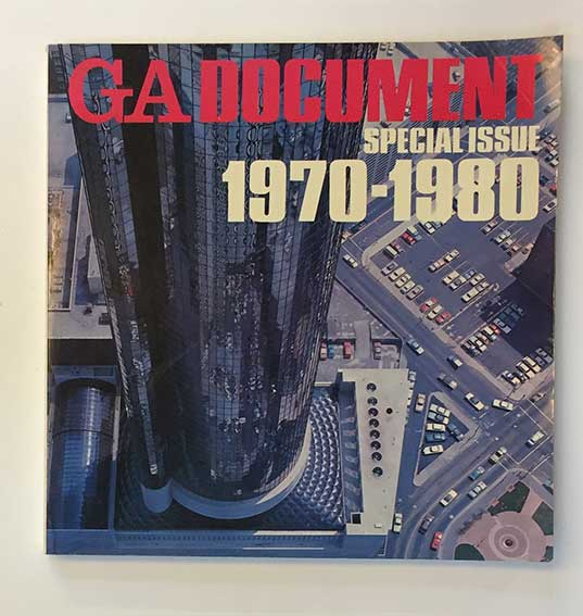 PERIODICALS -- GA DOCUMENT (Global Architecture). Special Issue 1-3 (&) nrs