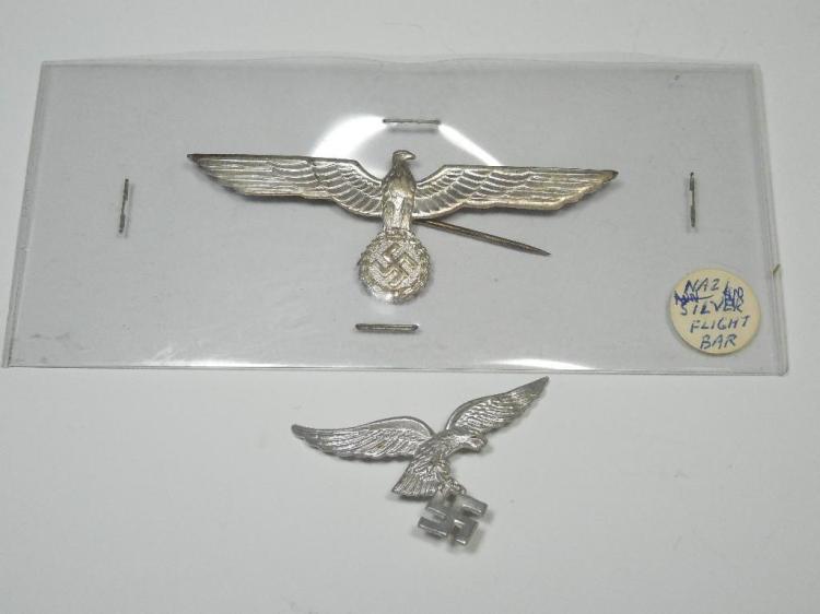 Nazi German Flight Bar PLUS Luftwaffe Badge