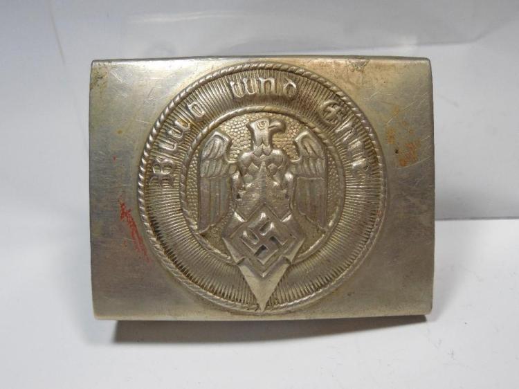 WWII Nazi German Hitler Youth Belt Buckle