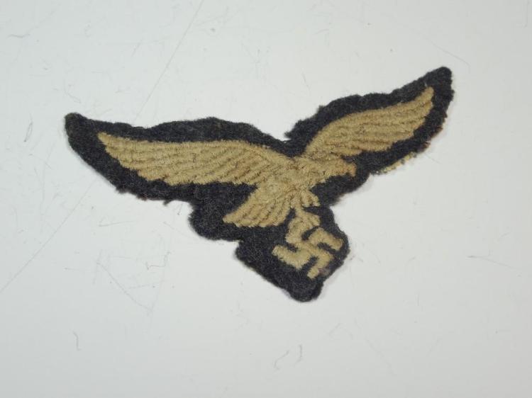 German WWII Luftwaffe Eagle Patch