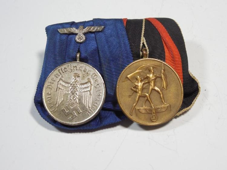 WWII Nazi German Medal Grouping Inc. Sudentenland