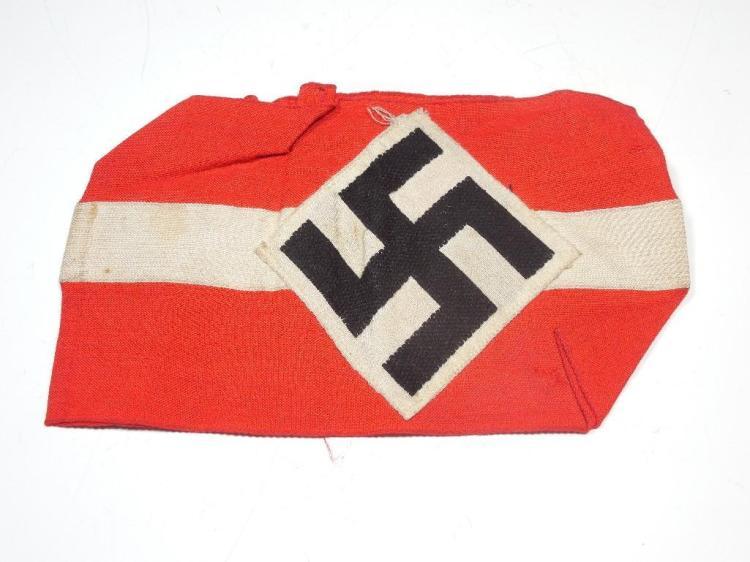Nazi German WWII Hitler Youth Armband