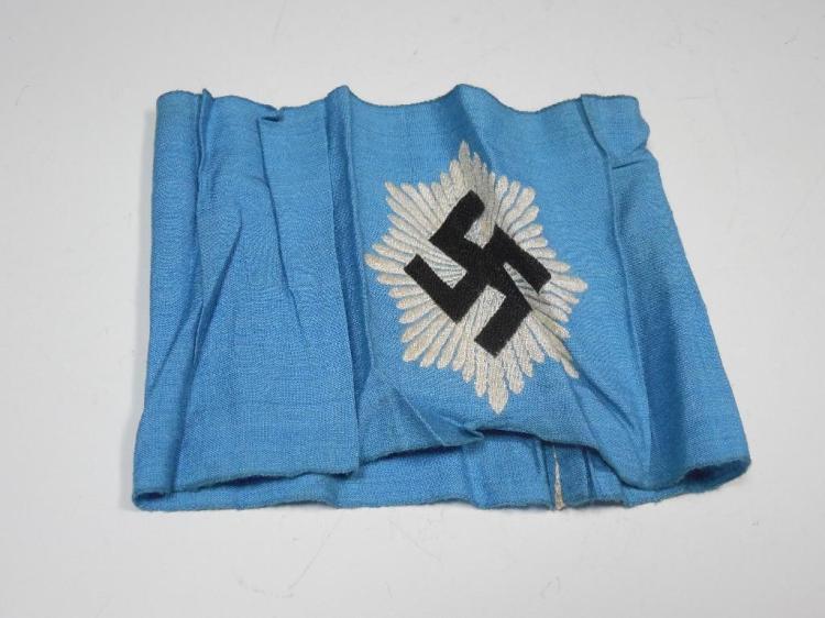 Rare WWII German Armband - RLB Group Leader