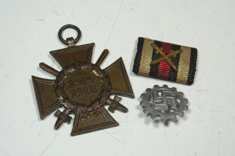 German Military WWII Group Lot Inc. WWI