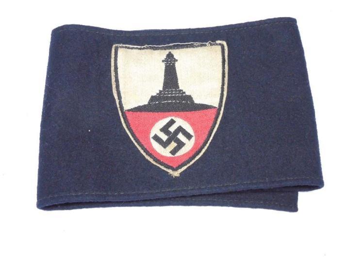 Nice German WWII Veteran Armband