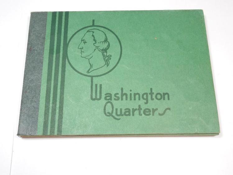 Good Album Early 36 Washington Silver Quarters