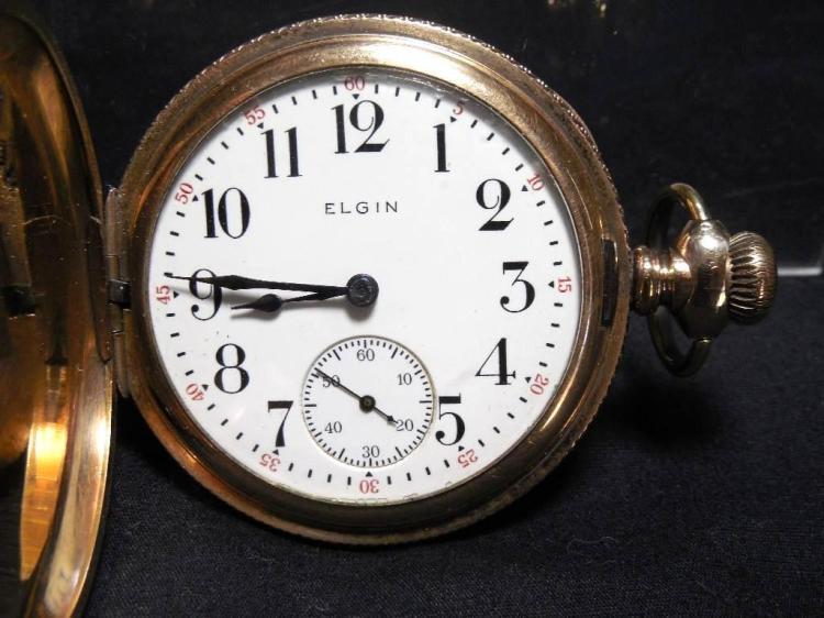 Gold Filled Elgin Pocket Watch 16 Size 15J