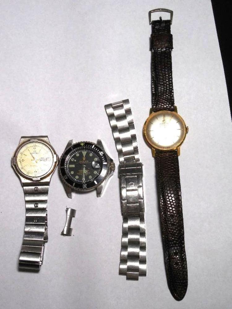 Group Lot Omega and Rolex repro Watches - Vintage