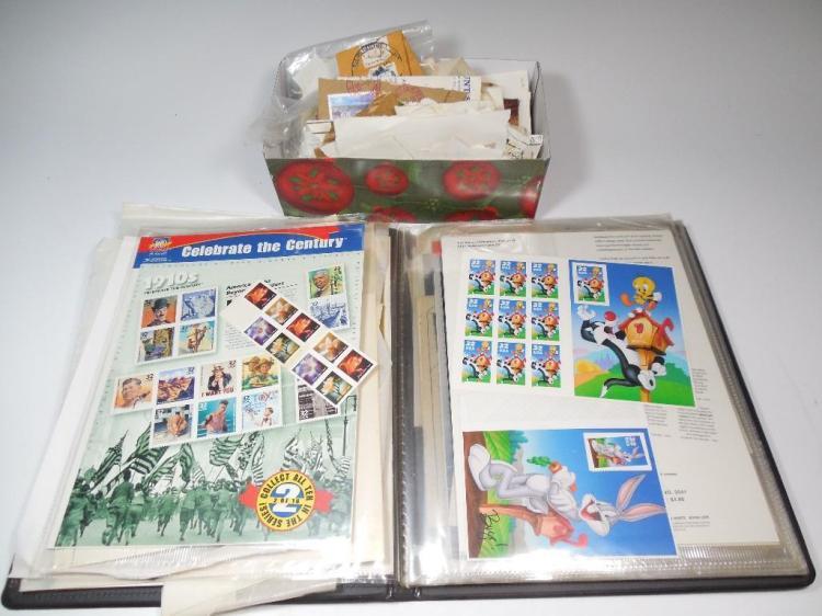 Unused Stamp Sheets PLUS more