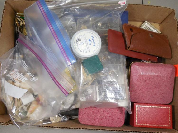 Large Lot Vintage Jewelry, Watches, Parts etc