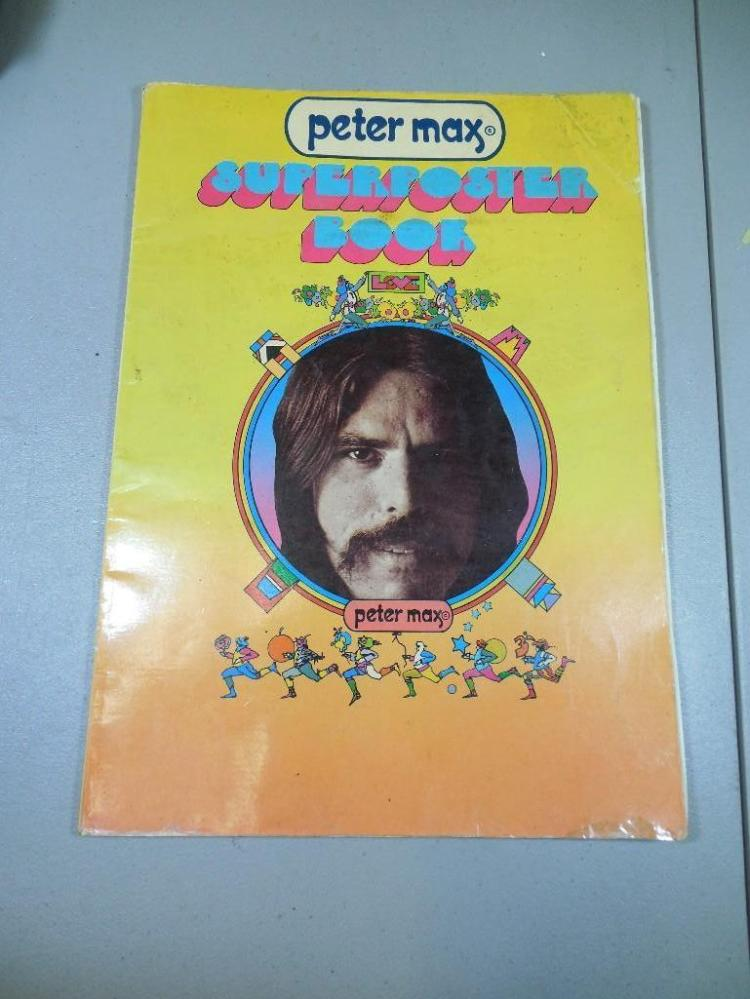Vintage Peter Max Superposter Book