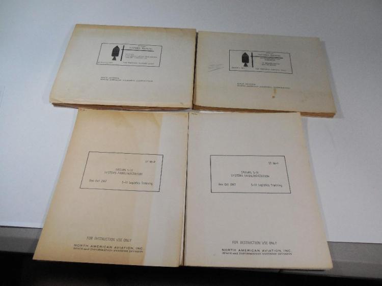2 Rare Apollo Mission Manuals + Technical Docs