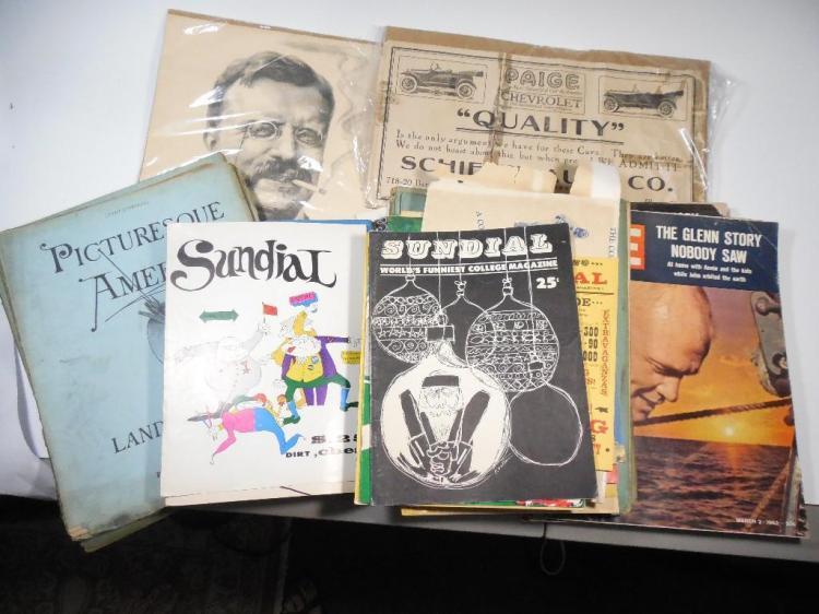 Large Lot Vintage Paper, Magazines etc