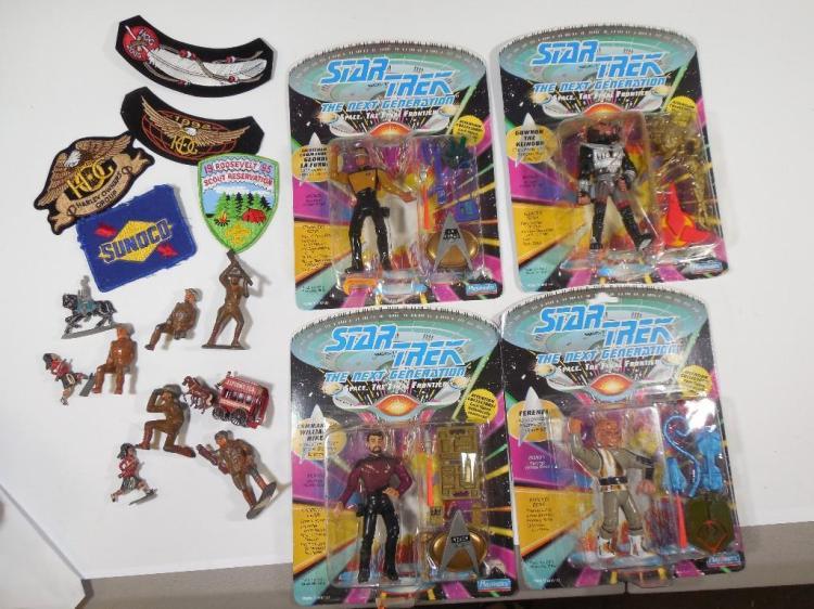 Vintage, Antique Toys Group Lot Inc. Manoil, TNG