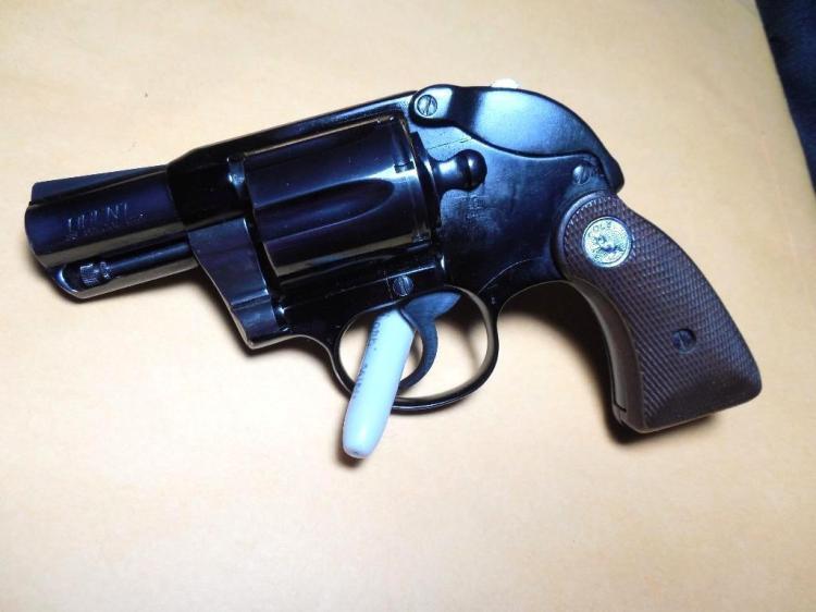 Colt Agent 38 Special w/Rare Factory Hammer Shroud