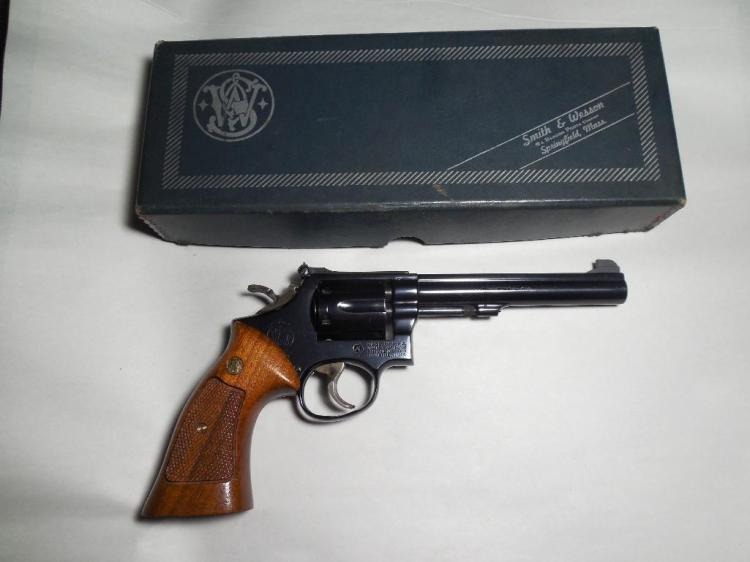 Vintage Smith & Wesson Model 14-3 K38 Revolver