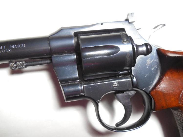 Colt Officer's Model Match 38 Target Pistol