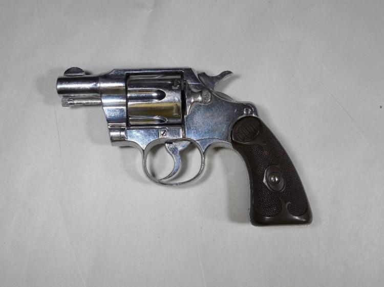 Colt Police Positive 32-20 WCF Revolver.
