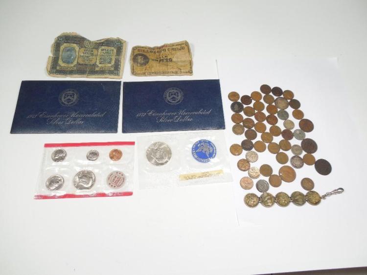 Good Lot Type Coins Inc. Civil War Indian Heads